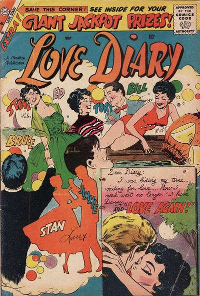 Love Diary #4 Comic Books - Covers, Scans, Photos  in Love Diary Comic Books - Covers, Scans, Gallery