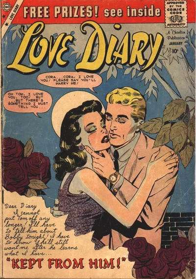 Love Diary #8 Comic Books - Covers, Scans, Photos  in Love Diary Comic Books - Covers, Scans, Gallery