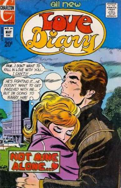Love Diary #84 comic books - cover scans photos Love Diary #84 comic books - covers, picture gallery