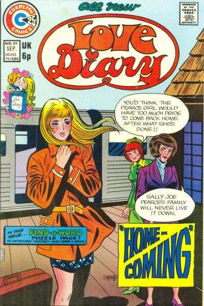 Love Diary #89 comic books for sale