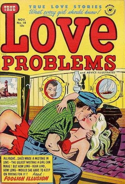 Love Problems and Advice Illustrated #18 comic books for sale