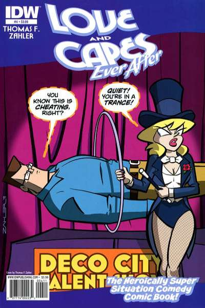 Love and Capes: Ever After #4 comic books for sale