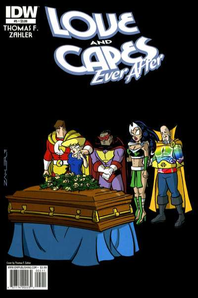 Love and Capes: Ever After #5 comic books for sale