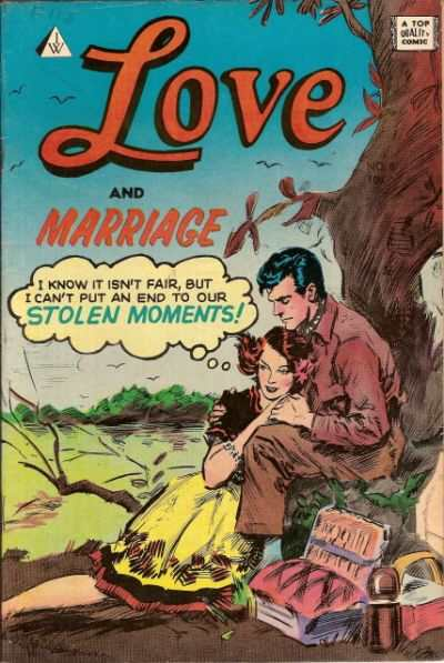Love and Marriage #8 comic books for sale