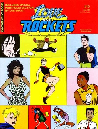Love and Rockets #10 comic books for sale