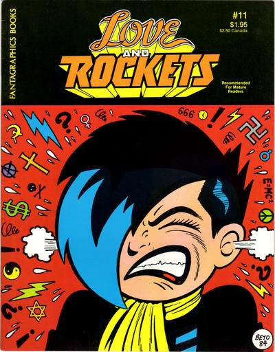 Love and Rockets #11 comic books for sale
