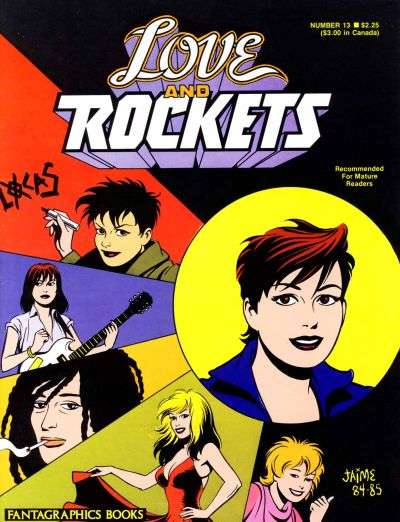Love and Rockets #13 comic books for sale