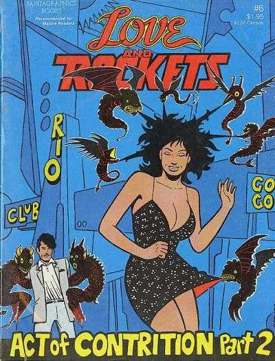Love and Rockets #6 comic books for sale