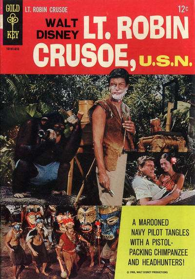 Lt. Robin Crusoe: U.S.N. #1 comic books - cover scans photos Lt. Robin Crusoe: U.S.N. #1 comic books - covers, picture gallery