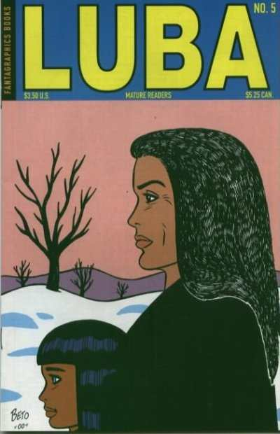 Luba #5 Comic Books - Covers, Scans, Photos  in Luba Comic Books - Covers, Scans, Gallery