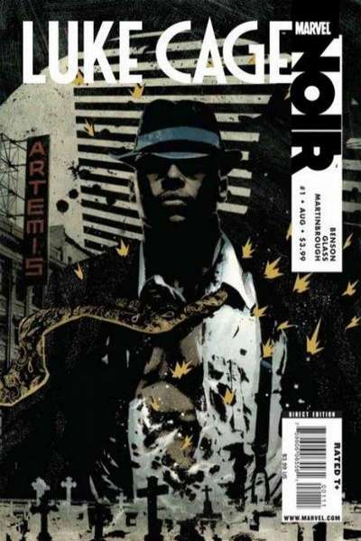 Luke Cage Noir comic books