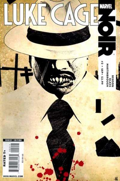 Luke Cage Noir #2 comic books for sale