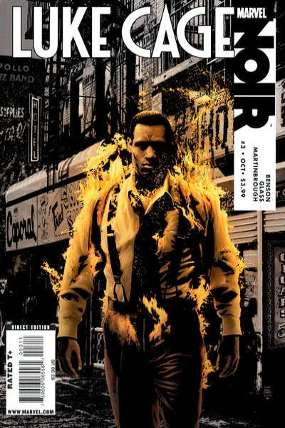 Luke Cage Noir #3 comic books - cover scans photos Luke Cage Noir #3 comic books - covers, picture gallery