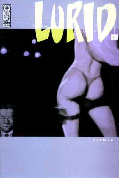 Lurid #1 comic books - cover scans photos Lurid #1 comic books - covers, picture gallery