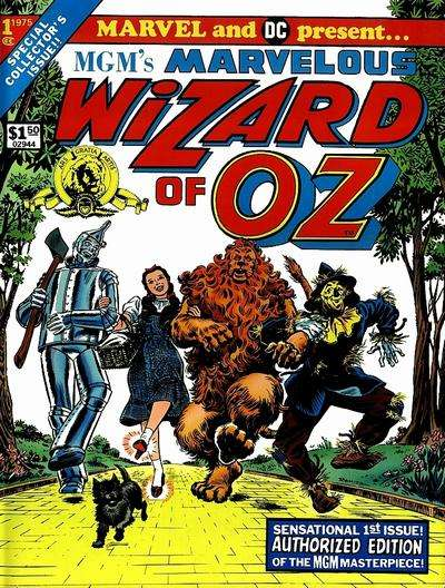 MGM's Marvelous Wizard of Oz comic books
