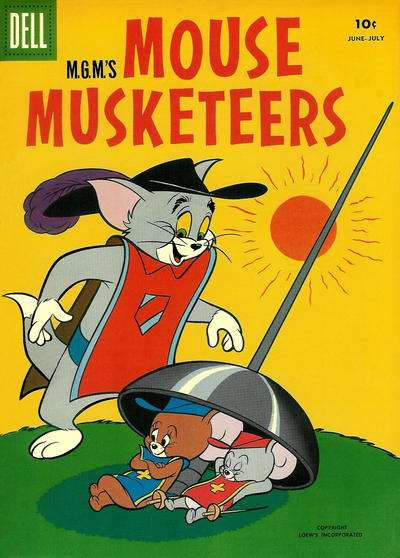 M.G.M.'s Mouse Musketeers #13 Comic Books - Covers, Scans, Photos  in M.G.M.'s Mouse Musketeers Comic Books - Covers, Scans, Gallery