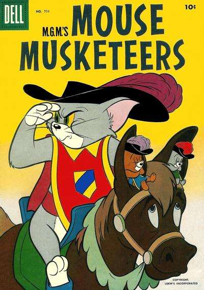 M.G.M.'s Mouse Musketeers #5 comic books - cover scans photos M.G.M.'s Mouse Musketeers #5 comic books - covers, picture gallery