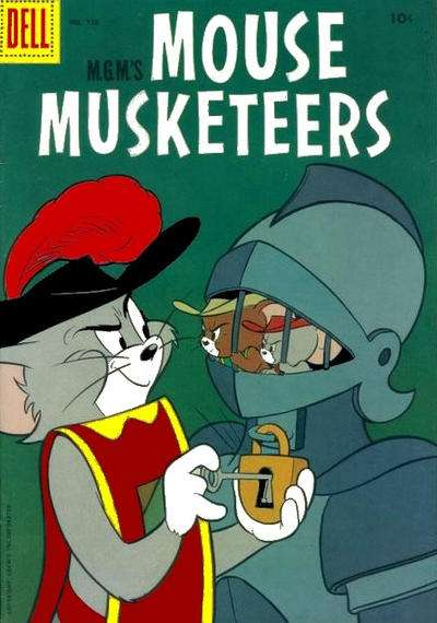 M.G.M.'s Mouse Musketeers #6 comic books - cover scans photos M.G.M.'s Mouse Musketeers #6 comic books - covers, picture gallery