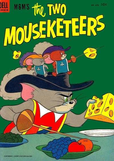 M.G.M.'s The Two Mouseketeers comic books