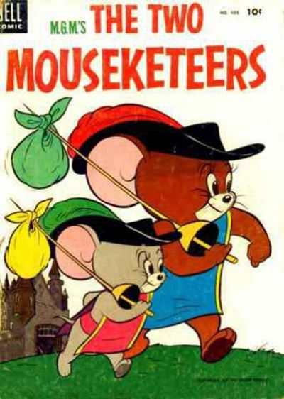 M.G.M.'s The Two Mouseketeers #2 comic books - cover scans photos M.G.M.'s The Two Mouseketeers #2 comic books - covers, picture gallery