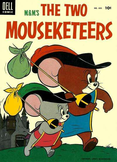 M.G.M.'s The Two Mouseketeers #3 comic books for sale
