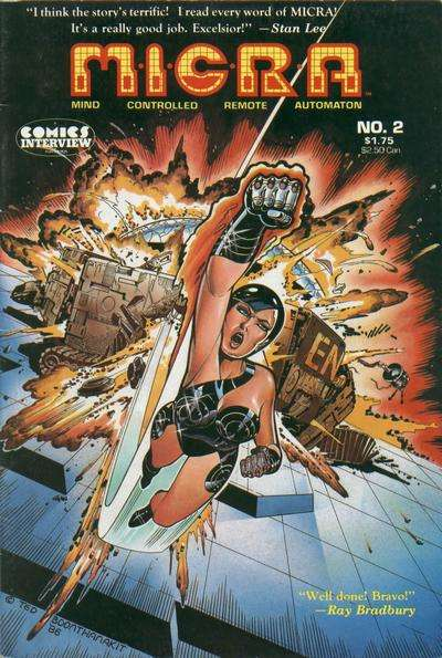 MICRA: Mind Controlled Remote Automaton #2 comic books for sale