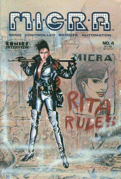 MICRA: Mind Controlled Remote Automaton #4 comic books for sale
