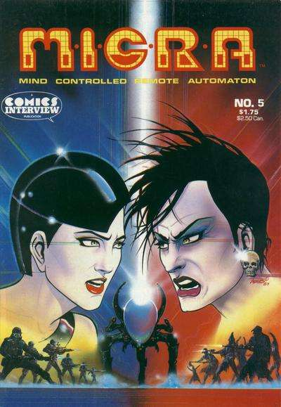 MICRA: Mind Controlled Remote Automaton #5 comic books for sale