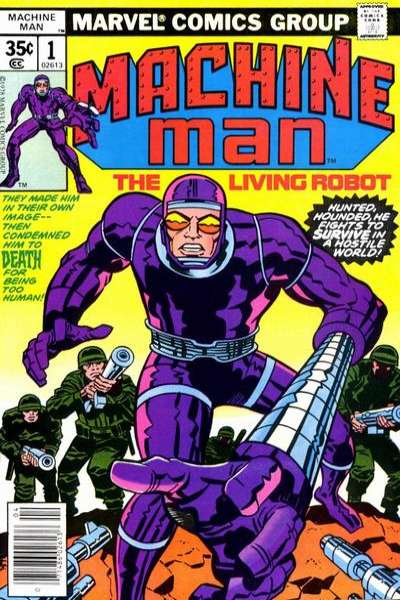 Machine Man Comic Books. Machine Man Comics.