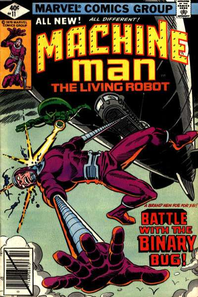 Machine Man #11 comic books for sale