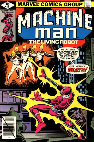 Machine Man #12 comic books for sale