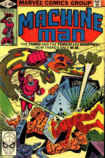 Machine Man #15 comic books for sale