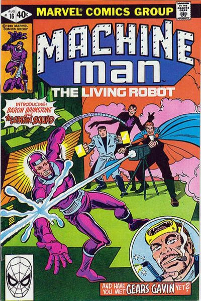 Machine Man #16 comic books for sale