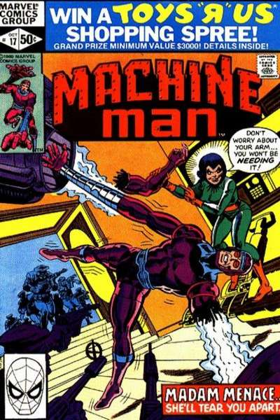 Machine Man #17 comic books for sale