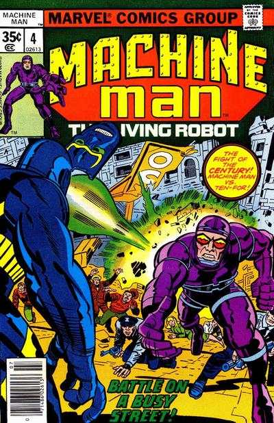 Machine Man #4 comic books for sale