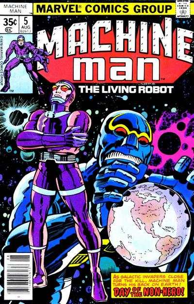 Machine Man #5 comic books for sale
