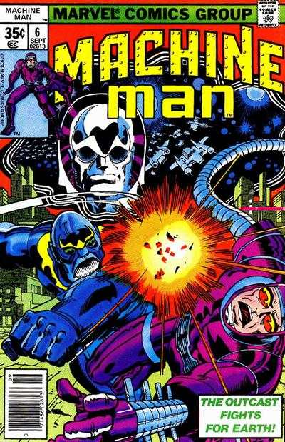 Machine Man #6 comic books for sale