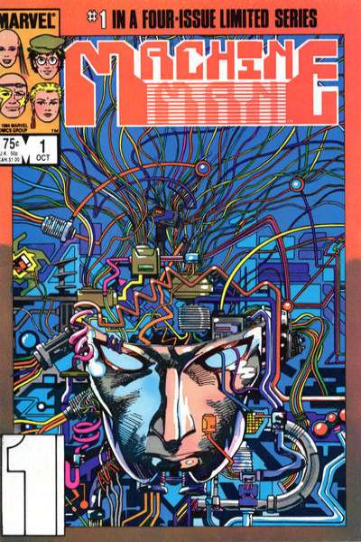 Machine Man # comic book complete sets Machine Man # comic books