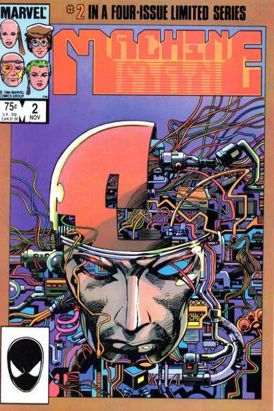 Machine Man #2 Comic Books - Covers, Scans, Photos  in Machine Man Comic Books - Covers, Scans, Gallery