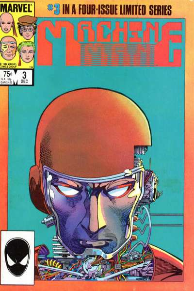 Machine Man #3 Comic Books - Covers, Scans, Photos  in Machine Man Comic Books - Covers, Scans, Gallery