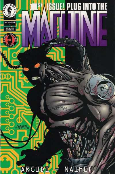 Machine #1 Comic Books - Covers, Scans, Photos  in Machine Comic Books - Covers, Scans, Gallery