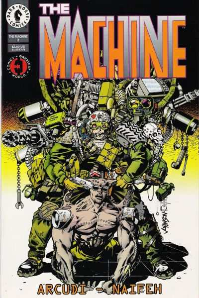 Machine #2 Comic Books - Covers, Scans, Photos  in Machine Comic Books - Covers, Scans, Gallery