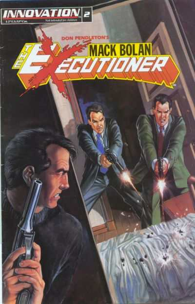 Mack Bolan: The Executioner #2 Comic Books - Covers, Scans, Photos  in Mack Bolan: The Executioner Comic Books - Covers, Scans, Gallery