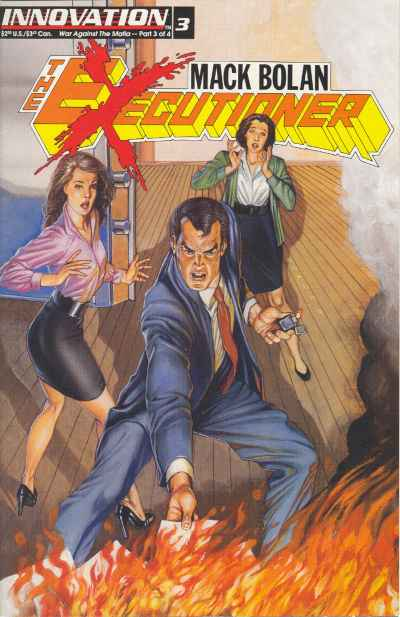 Mack Bolan: The Executioner #3 Comic Books - Covers, Scans, Photos  in Mack Bolan: The Executioner Comic Books - Covers, Scans, Gallery