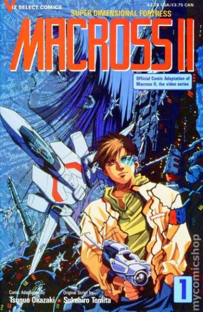 Macross II comic books