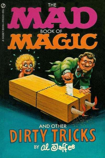 Mad Book of Magic #1 comic books - cover scans photos Mad Book of Magic #1 comic books - covers, picture gallery