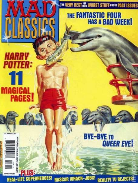 Mad Classics #16 comic books - cover scans photos Mad Classics #16 comic books - covers, picture gallery