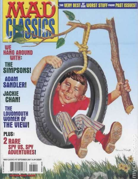 Mad Classics #17 comic books - cover scans photos Mad Classics #17 comic books - covers, picture gallery
