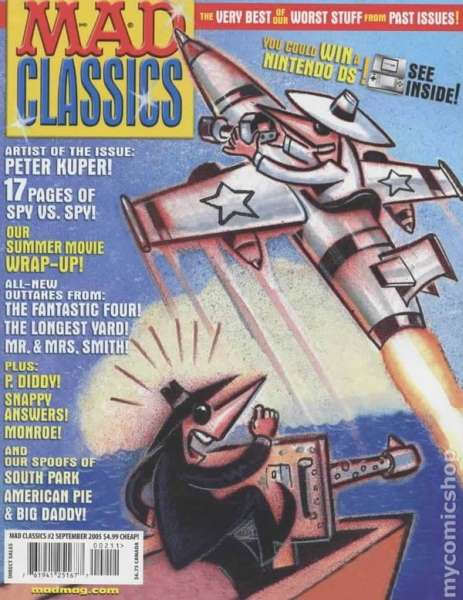 Mad Classics #2 Comic Books - Covers, Scans, Photos  in Mad Classics Comic Books - Covers, Scans, Gallery