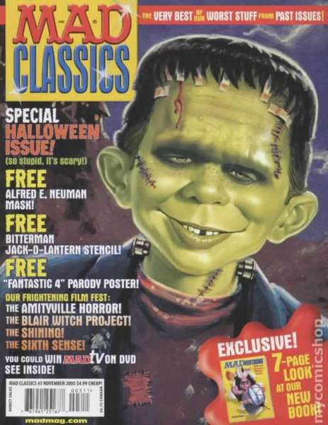 Mad Classics #3 comic books - cover scans photos Mad Classics #3 comic books - covers, picture gallery
